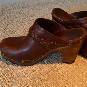 UGG Leather Clogs